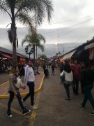 Tigre market: so many empty containers, wicker goods, hipster furnitre