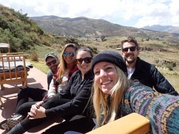 The group at Allkamari (Kevin, Casey, me, Lindsay, Derryl)