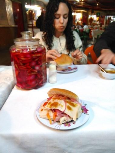 Street food tour: pork sandwich