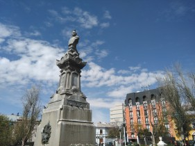 La Paz walking tour: San Pedro square