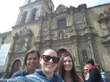 San Francisco church, La Paz
