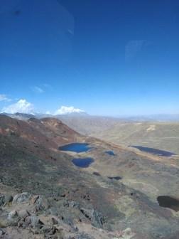 Lagoons near La Paz