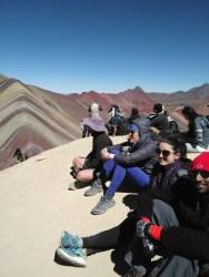 The group, awestruck (Arestia, Kelly, Abe)