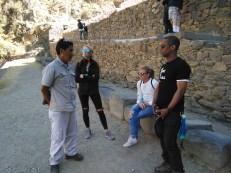 Vidal teaching us about the Incas