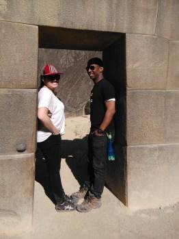 Sean and I at Ollantaytambo