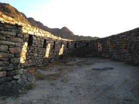More sunset ruins