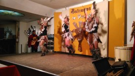 Our dinner folklore show