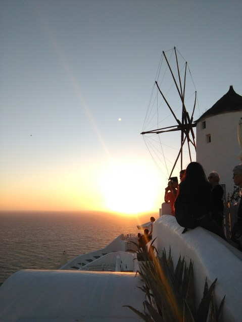 Sunset shot in Oia