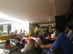Free music performance at The Collective