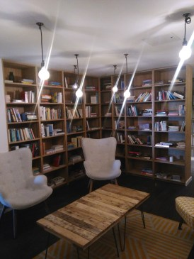 The library at The Collective