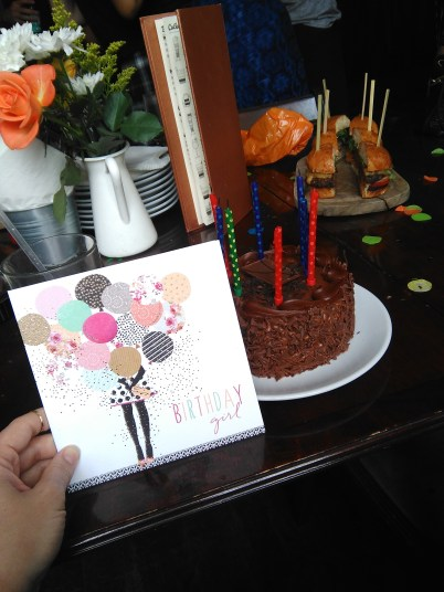 Such a sweet reception for my birthday at Undertone