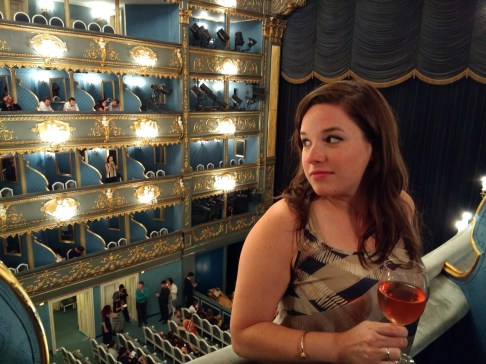 Rose at the opera