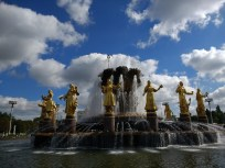 The Fountain of International Friendship, with representatives from each former Soviet republic