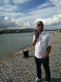 Model shots on the Danube