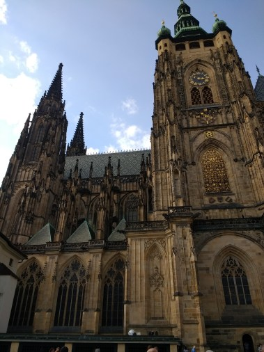 St. Vitus Cathedral from the outside