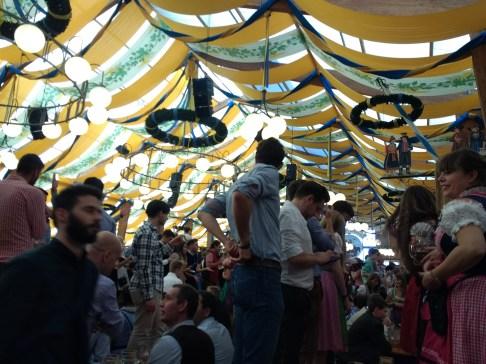 The tents get crazy