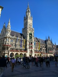 The Rathaus - so beautiful!