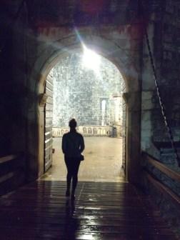 Entering Old Town = entering a castle