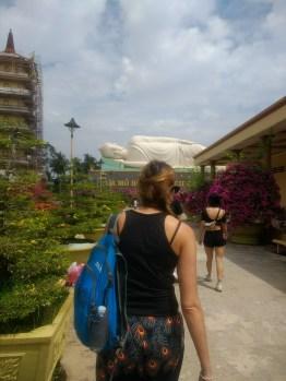 Reclining Buddha en route to Mekong Delta