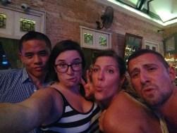 Trivia night with Johnson, Arestia and Max