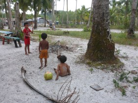 Khmer kids playing