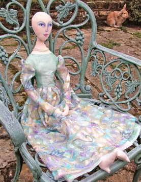 Art Muse doll in the making by Marina Elphick