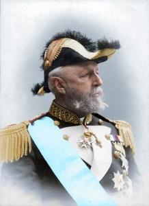King Oscar II of Sweden and Norway