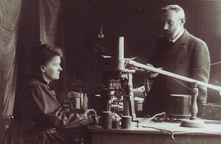 Marie Curie and Pierre