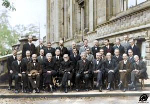 The most intelligent picture ever taken: Participants of the 5th Solvay Conference on Quantum Mechanics, 1927.