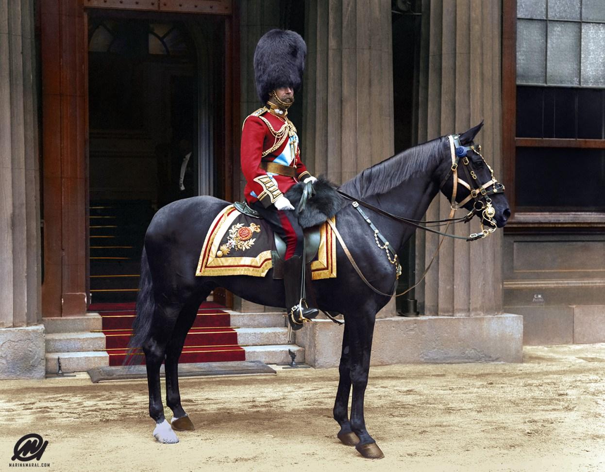 King George V, 1914
