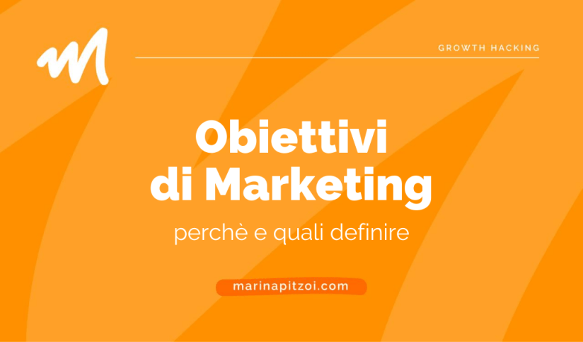 Obiettivi di marketing