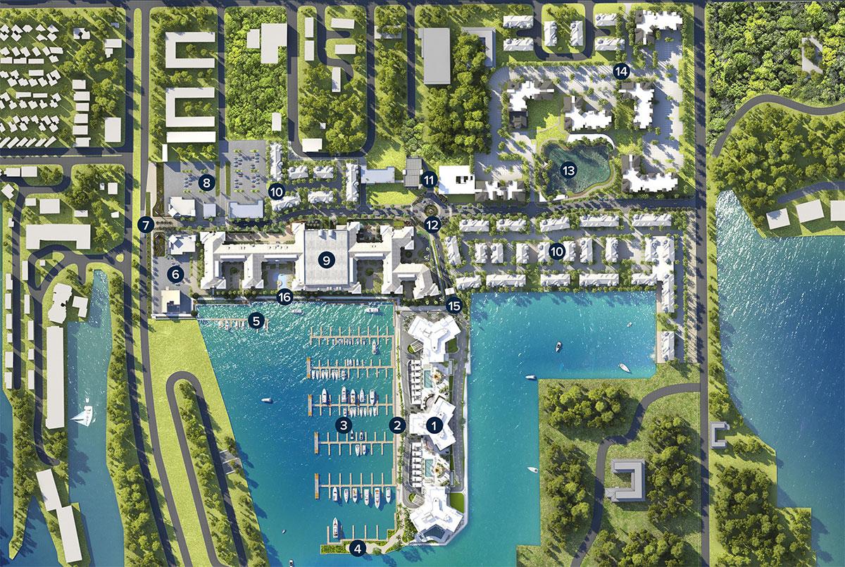 Westshore Marina Map Marina Pointe
