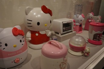 You could seriously have an all Hello Kitty home.