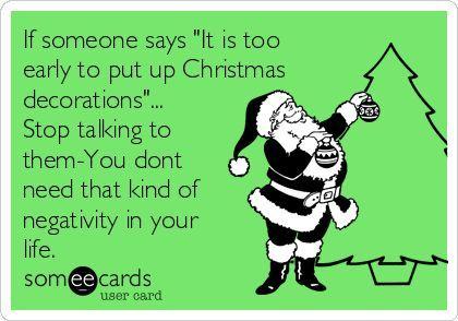 δεν είναι νωρίς για Χριστούγεννα