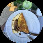 Opskrift på souffle omelet med svampe