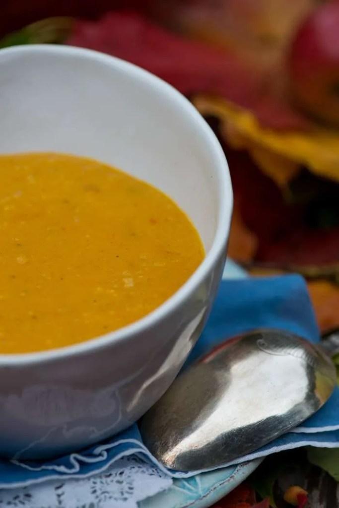 Opskrift på græskar suppe