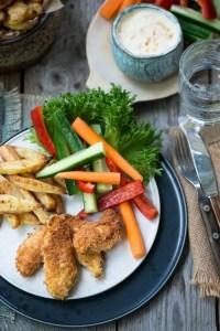 Opskrift på kyllingenuggets