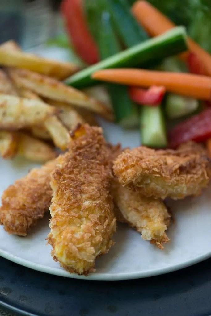 Opskrift på chicken nuggets