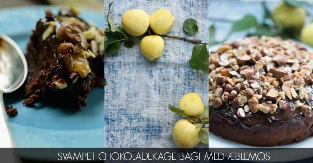 Chokoladekage med æblemos og masser af knas. MUMS