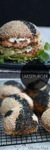 Lakseburger opskrift