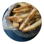 Opskrift på hjemmelavede pommes frites