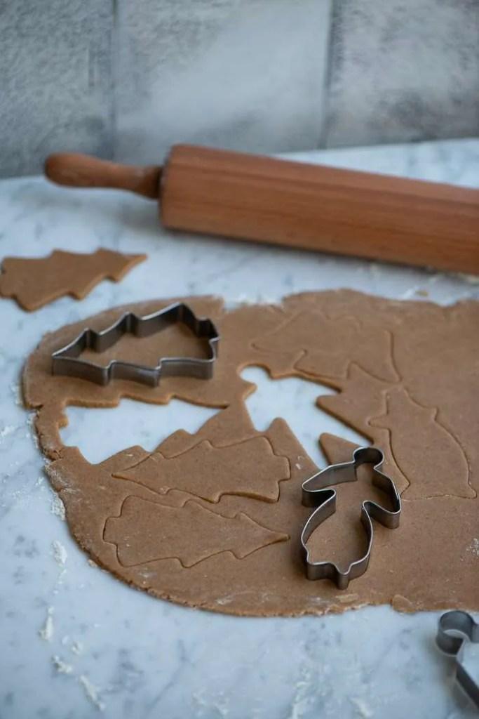 Julekrydret småkagedej