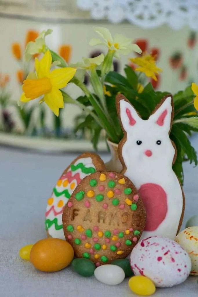 Nemme vaniljesmåkager til påske