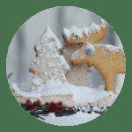 Opskrift på julebrownie