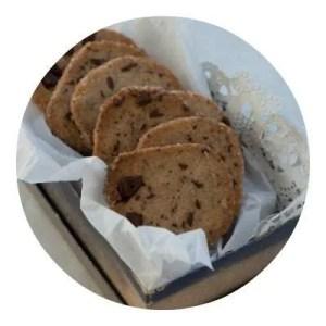Opskrift på småkager med chokoladestykker