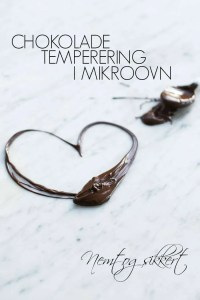 Chokolade tempering i mikroovn