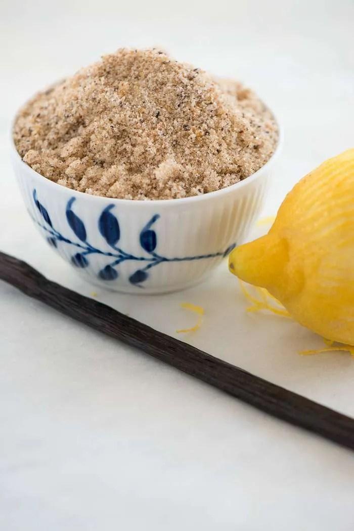 Citron vaniljesukker. Opskrift fra Marinas Mad
