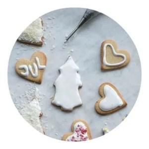 Opskrift på glasur til småkager
