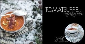 Tomatsuppe. Opskrift