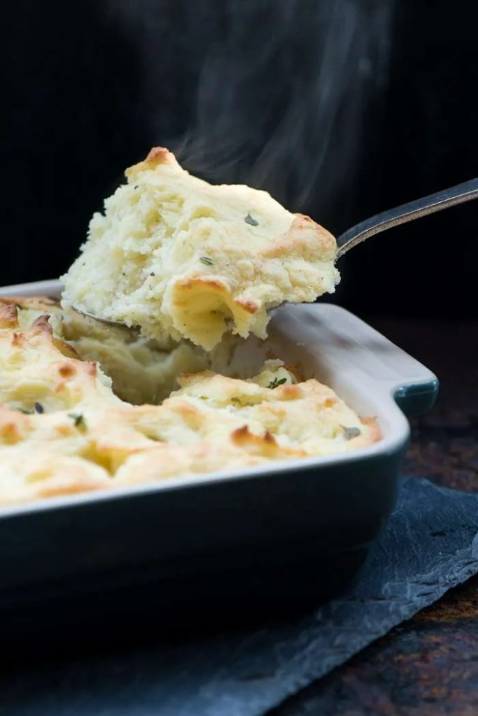 Opskrift på kartoffelmos i ovn